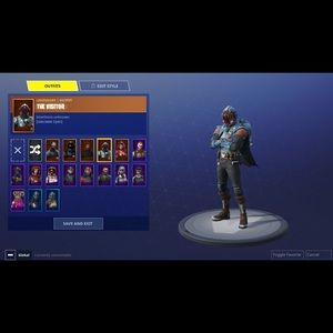 STACKED fortnite Account 1300 V-Bucks 90+Wins